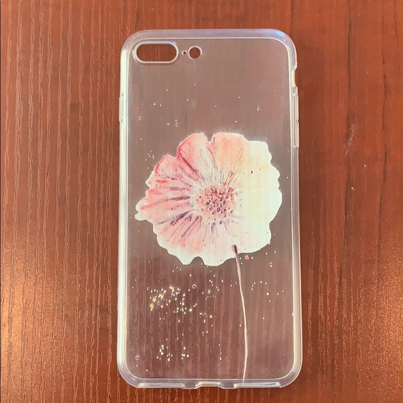 Clear silicone case for iPhone 8 Plus/7 plus